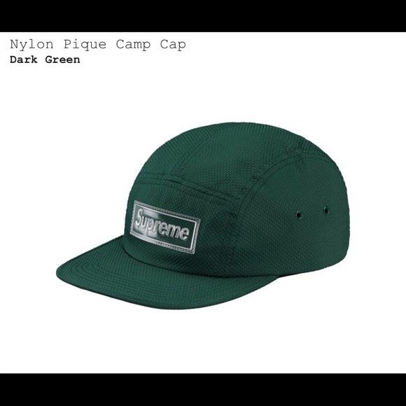 73f0e658 Supreme Accessories   Nylon Pique Camp Cap   Poshmark